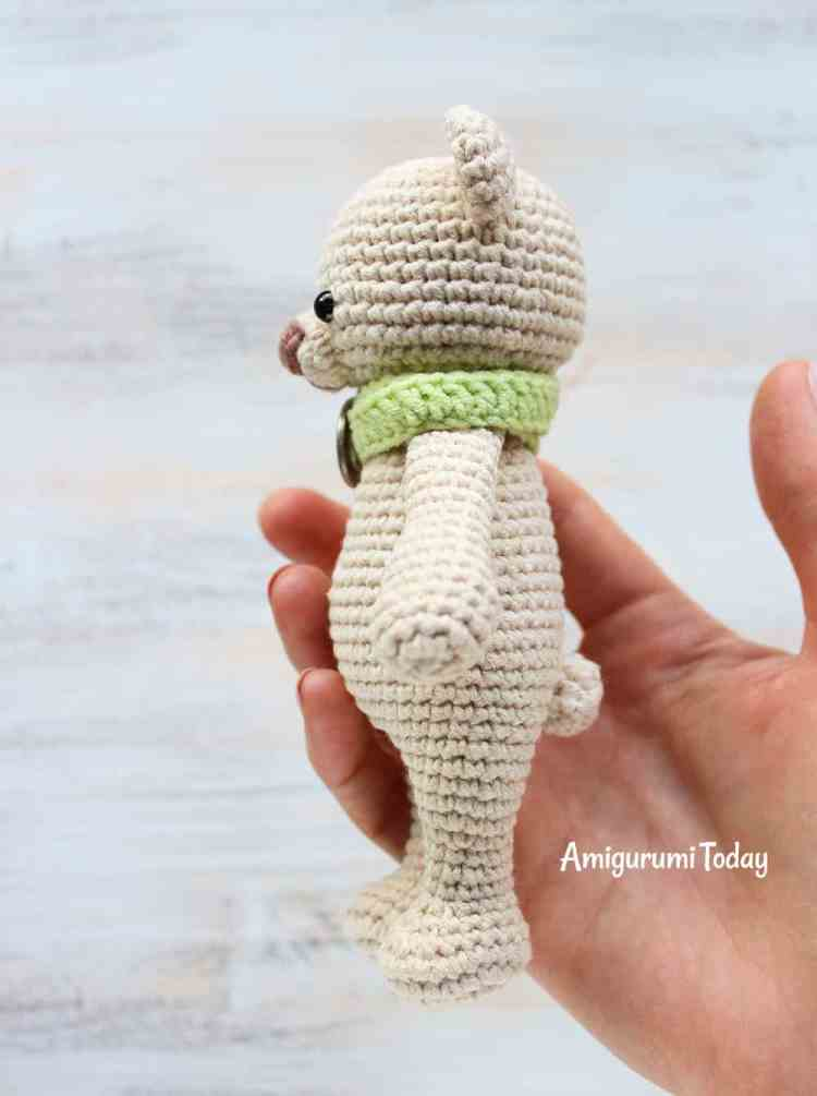 Free Cuddle Me Bear Crochet Pattern
