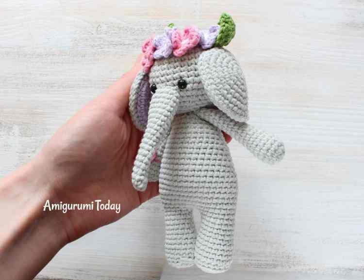Amigurumi Cuddle Me Elephant Crochet Pattern