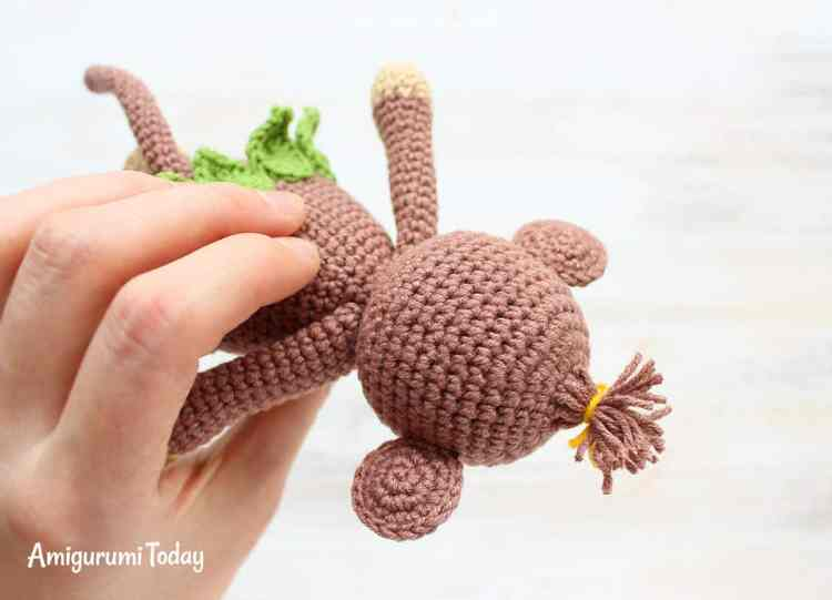 Amigurumi monkey pattern - Cuddle Me Toy Series - Amigurumi Today