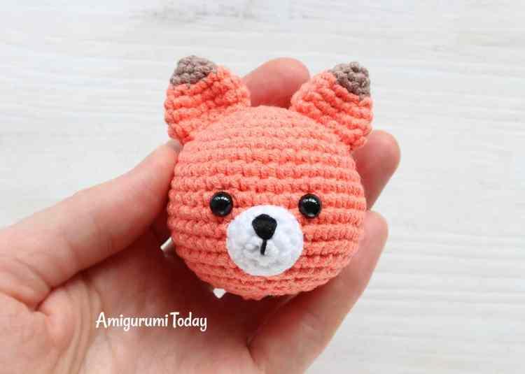 Cuddle Me Fox Amigurumi Pattern - assembly