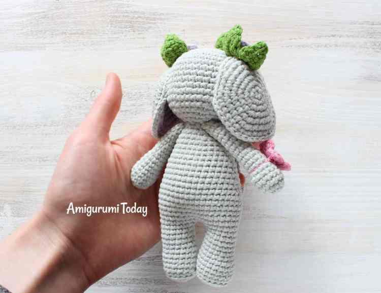 Free Cuddle Me Elephant Amigurumi Pattern