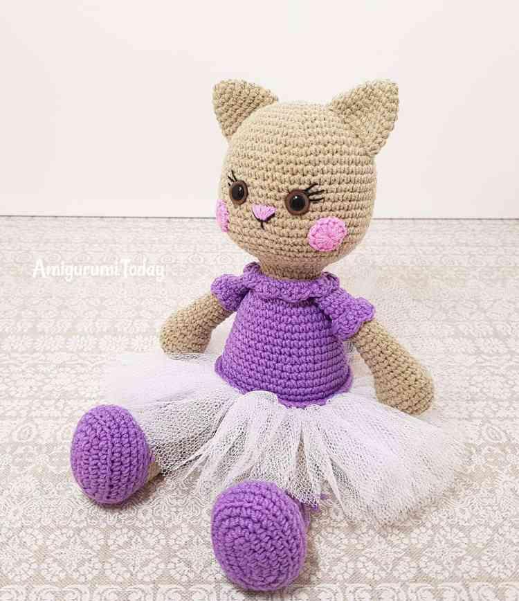 Crochet Cat Ears For Toy