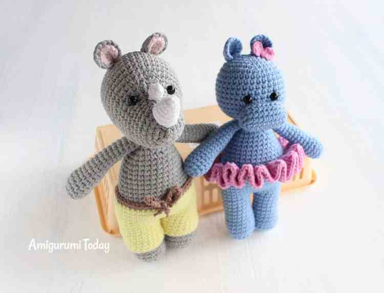 Cuddle Me Toy Collection - Free amigurumi patterns by Amigurumi Today