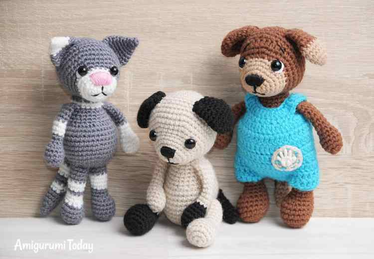 Toby the Cat - Free amigurumi pattern by Amigurumi Today