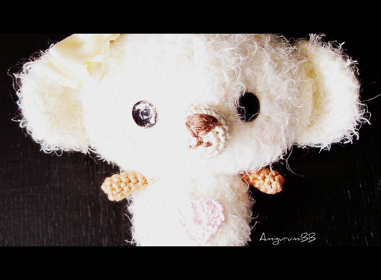 Kai the bear pattern.Easter amigurumi pattern, kawaii bunny ... | 956x1298