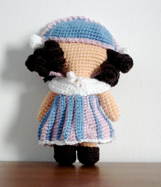 Flower Girl - One piece Flat Doll