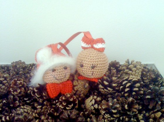 Gingermen Heads - AmigurumiBB - Free Patterns