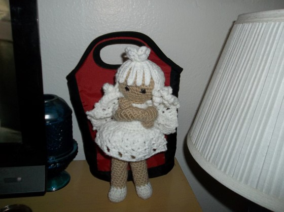 Debi B's Angel made out Angel pattern-AmigurumiBB