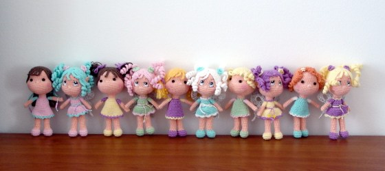 Happy dolls greeting