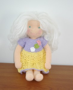 AmigurumiBB - work in progress, Waldorf/Steiner inspired doll