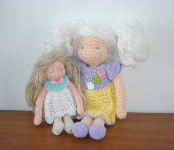 Waldorf inspired dolls by AmigurumiBB