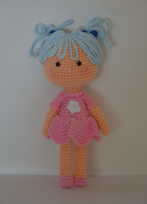 Doll from stick man drawing AmigurumiBB