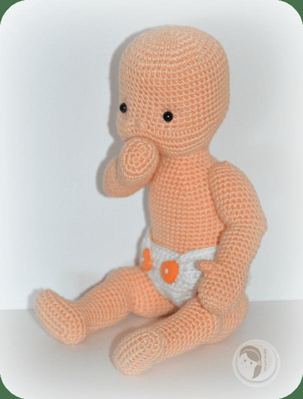 Fiber Art Craft: Female Girl Doll Base Amigurumi Crochet Doll ... | 800x608
