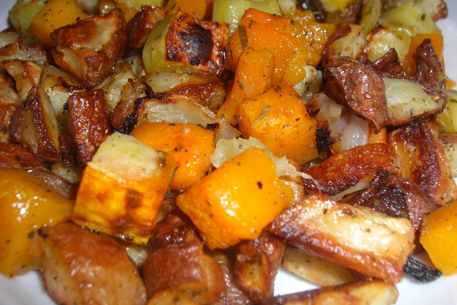 Roasted Root Veggies (from amihungry.com)