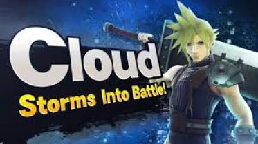 Cloud Strife Super Smash Bros
