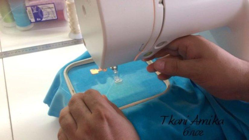 Наша швейная машинка