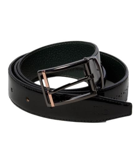Superbe ceinture cuir noir