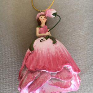 Figurine adorable La rose