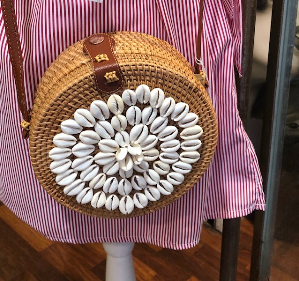 SAC ROND COQUILLAGES