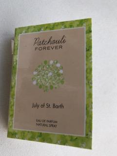 Patchouli forever - Échantillon