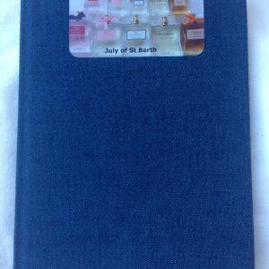 Notebook July St Barthelemy perfumes