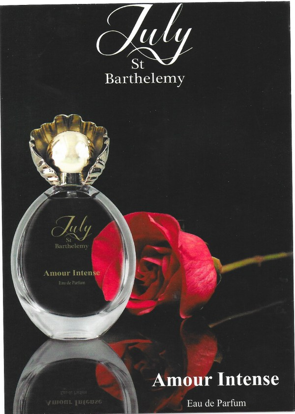Amour Intense perfumed card