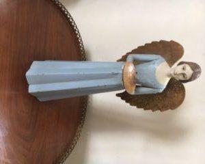 Magnificent candle jar blue angel