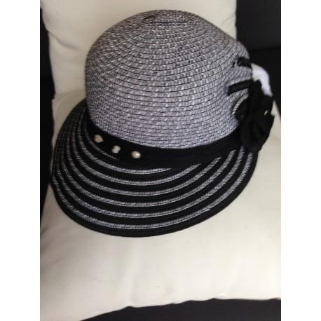 Black cap and camelia