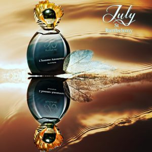 L'HOMME AMOUREUX perfumed card
