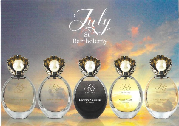 Les exclusifs July St Barthelemy carte postale