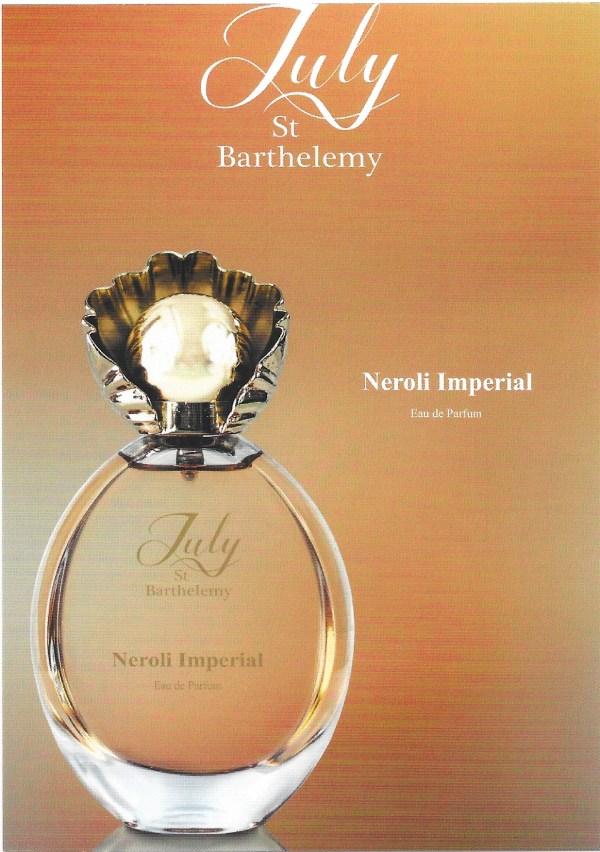 Neroli Imperial perfumed card