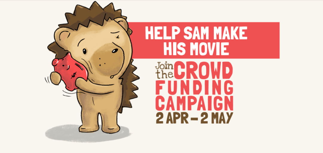 """PLEASE SHARE And DONATE by 2 May 2018 - Let's Do This for """"Sam The Hedgehog"""""""