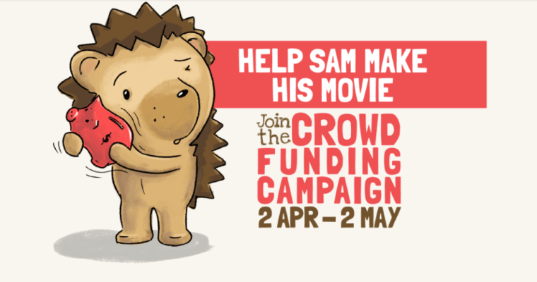 "PLEASE SHARE And DONATE by 2 May 2018 – Let's Do This for ""Sam The Hedgehog"""