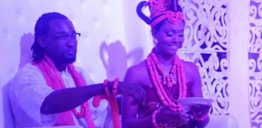 gbenro and osas wedding video-amillionstyles