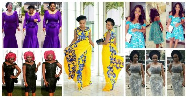 5 Amazing Asoebi Designs Long and Short Lace Inspired