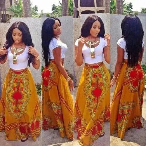ankara style skirt-amillionstyles