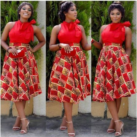 ankara combination short skirts-amillionstyles3