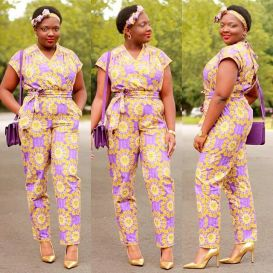 Ankara Trousers For Women AmillionStyles