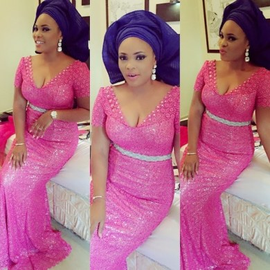 colorful asoebi in lace book 7 amillionstyles