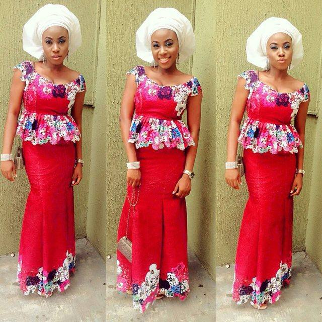 Nigerian Skirt And Blouse Designs
