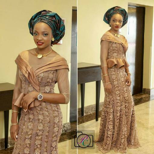wedding glam for asoebi-amillionstyles