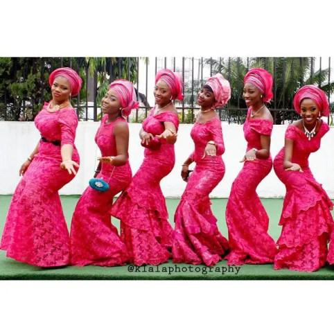 wedding glam for asoebi-amillionstyles4