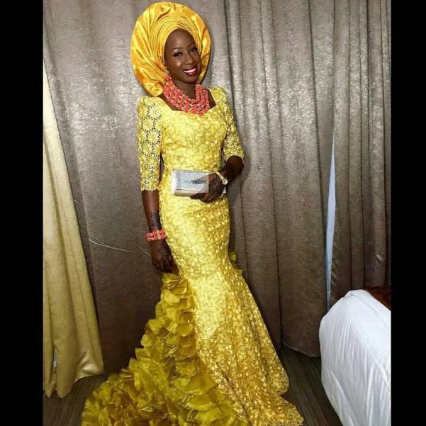 wedding glam for asoebi-amillionstyles5