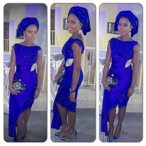 wedding glam for asoebi-amillionstyles7