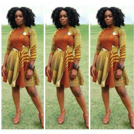 Amazing Ankara Short Gowns - AmillionStyles3