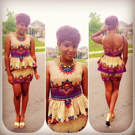 Amazing & Colorful Ankara Outfits 2015 3