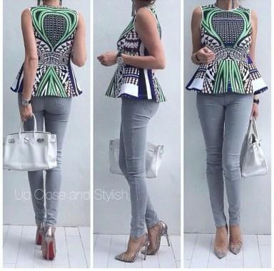 Amazing Ways To Wear Ankara Top Dresses & Look Fab
