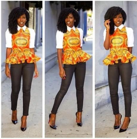 Amazing Ways To Wear Ankara Top Dresses & Look Fab1