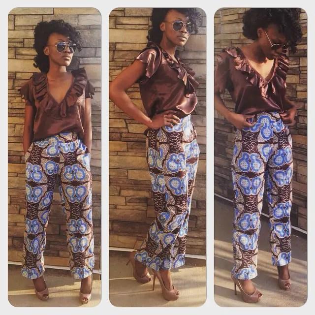 Ankara Styles In Pant Combination @KokoNanaga - AmillionStyles