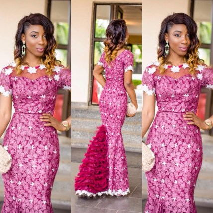 Ankara Wedding Gown